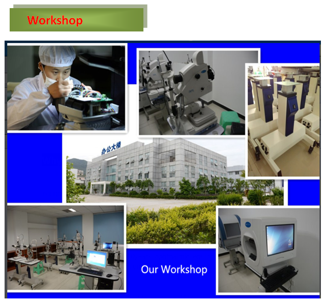 China Top Quality Ophthalmic Equipment Eye Fundus Camera