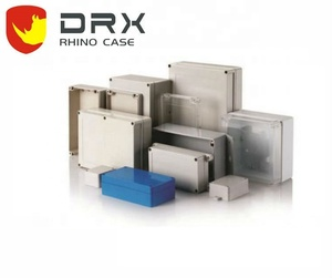 EVEREST/DRX PW074 IP67plastic Din rail abs transformer enclosure 158*90*60