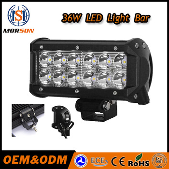 Morsun 7 led light for car36w led driving light bar high power morsun 7 led light for car 36w led driving light bar high power mozeypictures Images