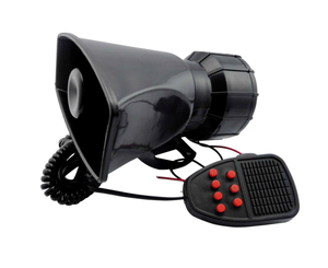 Megaphone type magic digital recordable car horn