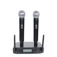 Accuracy pro audio UHF-120 Hot Sale Professional UHF Wireless Microphone System For Stage And Karaoke Handheld Microphone