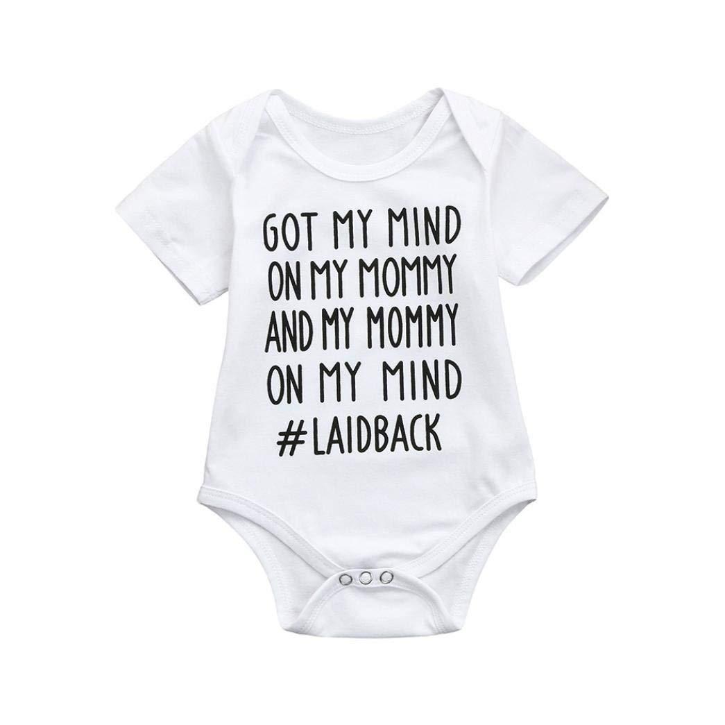XHX403 Mamas Boy Infant Kids T Shirt Cotton Tee Toddler Baby 6-18M
