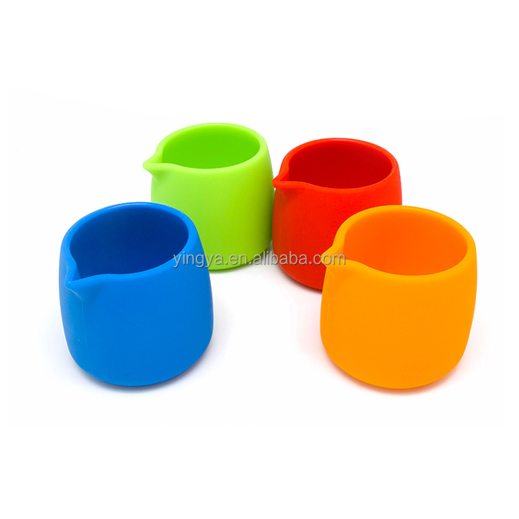 Wholesale durable silicone milk cup,chocolate cup