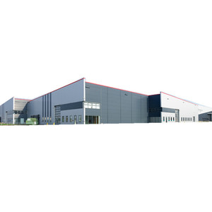 Steel Construction Building Steel Structure Warehouse Prefab Steel Office and Workshop