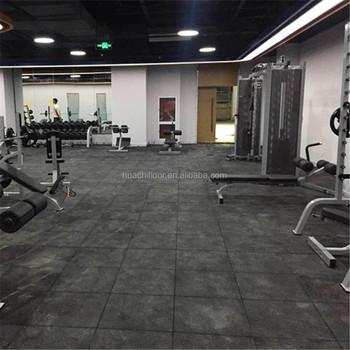 Non Slip Heat Resistant Ruber Gym Floor