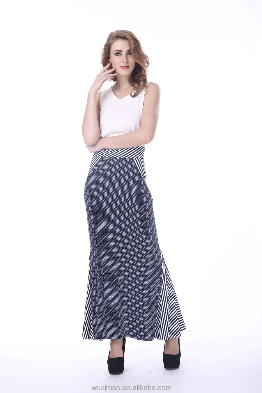 Latest Women Elegant Maxi Skirt Suits Design Picture,Ladies ...