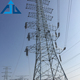New design professional anti-corrosive 4 leg angle steel power transmission tower