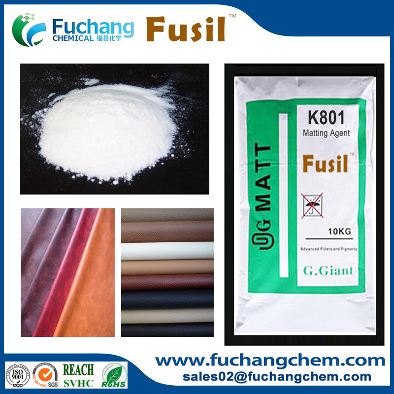 Synthetic Leather coating additive silica matting agent