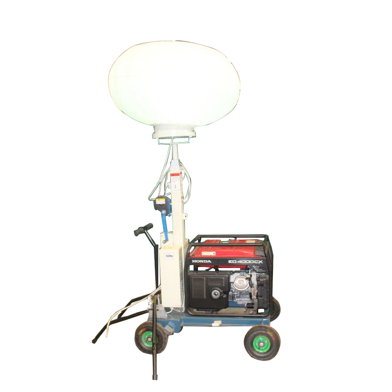 Solar balloon tower light machinery equipment