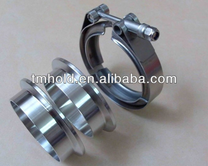 Universal 25 Vband Kit Heavy Duty Cl Flange Set Exhaust Intercooler Pipe Buy V Band Clflexible Pipeheavy: 2 5 Universal Exhaust Kit At Woreks.co