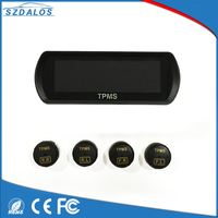 Car diagnostic tool wireless external LCD tpms 433mhz auto tyre pressure sensor bluetooth