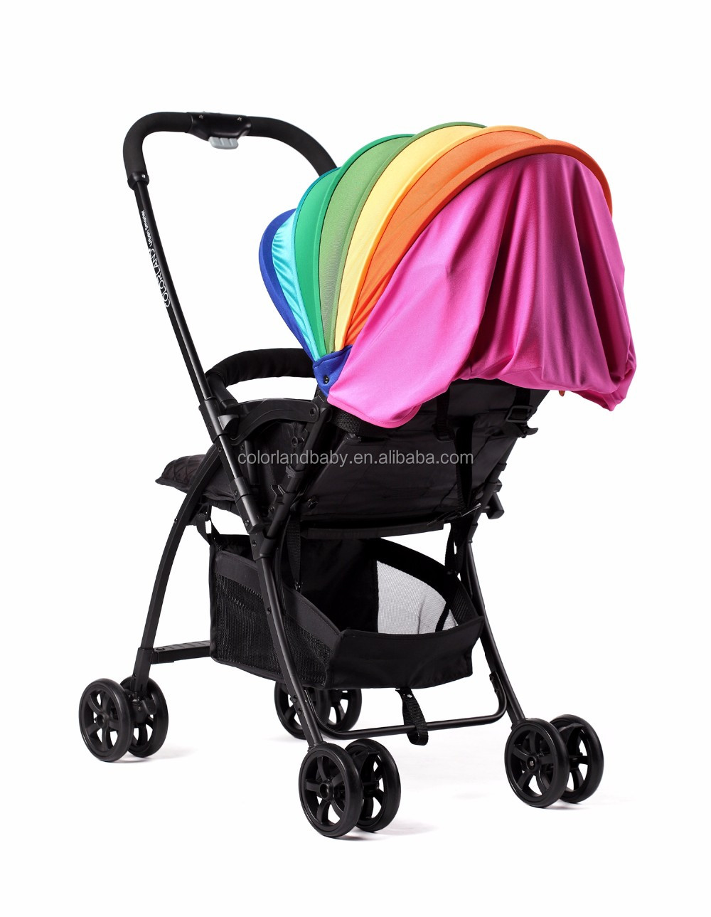 Exported to USA Market Folding Baby Stroller Foldable Baby Stroller Pram Baby Stroller Carriage