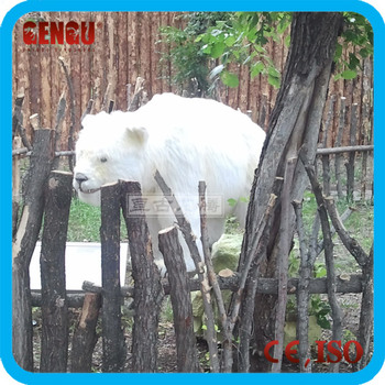Garden polar bear display models for sale