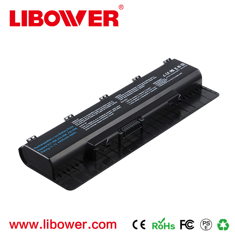 Libower CE FCC ROHS MSDS UN38.3 Laptop Battery for ASUS Lithium battery N46V N46VM N56
