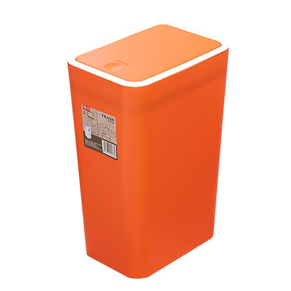 Creative Rectangle Kitchen Trash Can Trash Can Sitting Room Trash Bins  Bedroom With Lid Waste Container