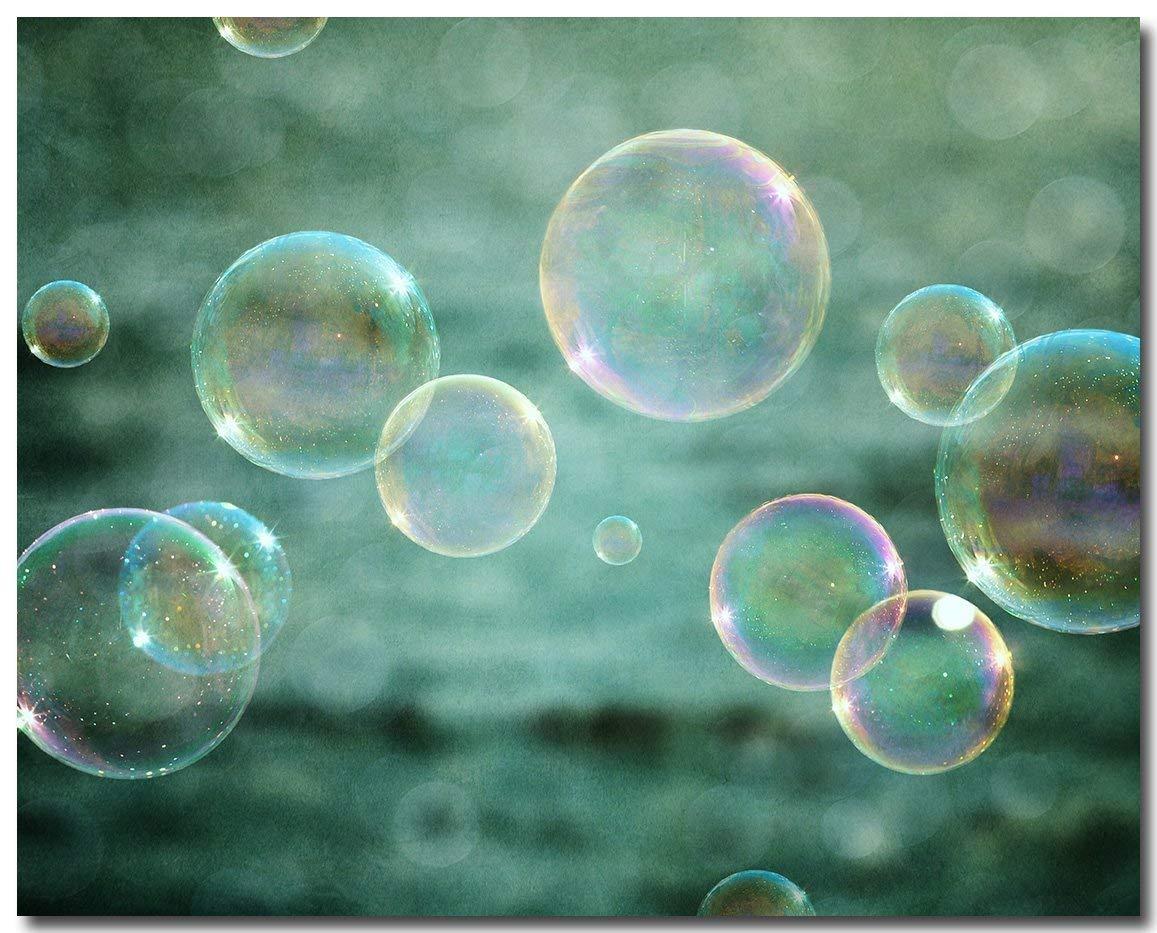 Buy Teal Bathroom Wall Decor 8x10 Unframed Bubbles Print Unisex Nursery Or Kids Bath Art In Cheap Price On Alibaba Com