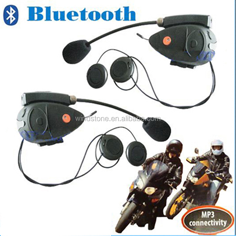 Helmet Bluetooth Intercom System/Stereo Bluetooth Interphone Motorcycle Kit