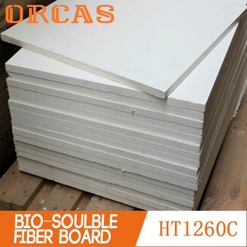 Insulation panel bio-soluble ceramic fiber board
