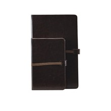 High Quality Black Color Clear Cover Notebook