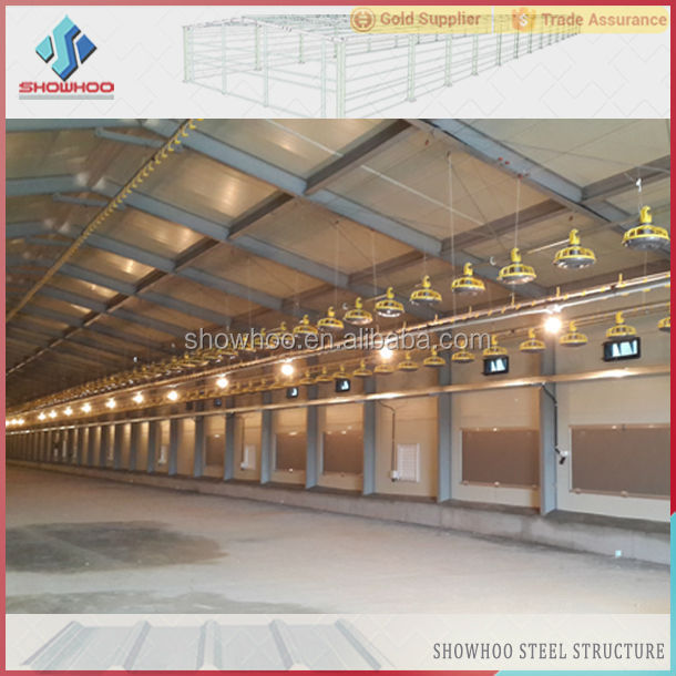 Steel Structure Broiler Poultry Farm Design In India Buy