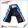 Gel padded cycling shorts / cycling bib shorts with custom printing