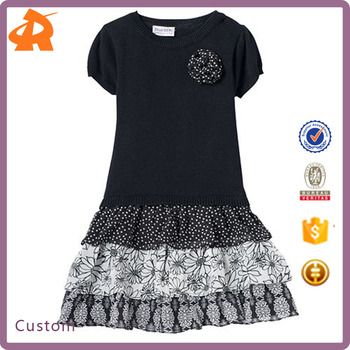 f86beb02c Designer One Piece Baby Girl Party Dress Children Frocks Designs ...