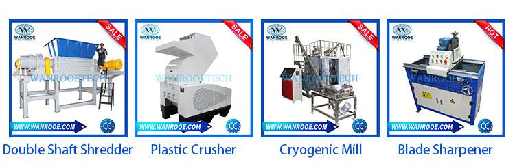 1000 Kg/h a Película do PE PP Granulação Máquina Granulador de Reciclagem de Plástico