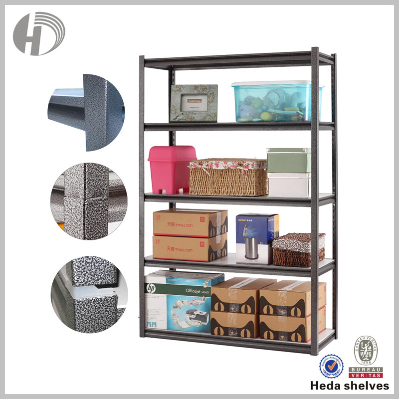 Decorative retail 300kg loading per level rack for shop