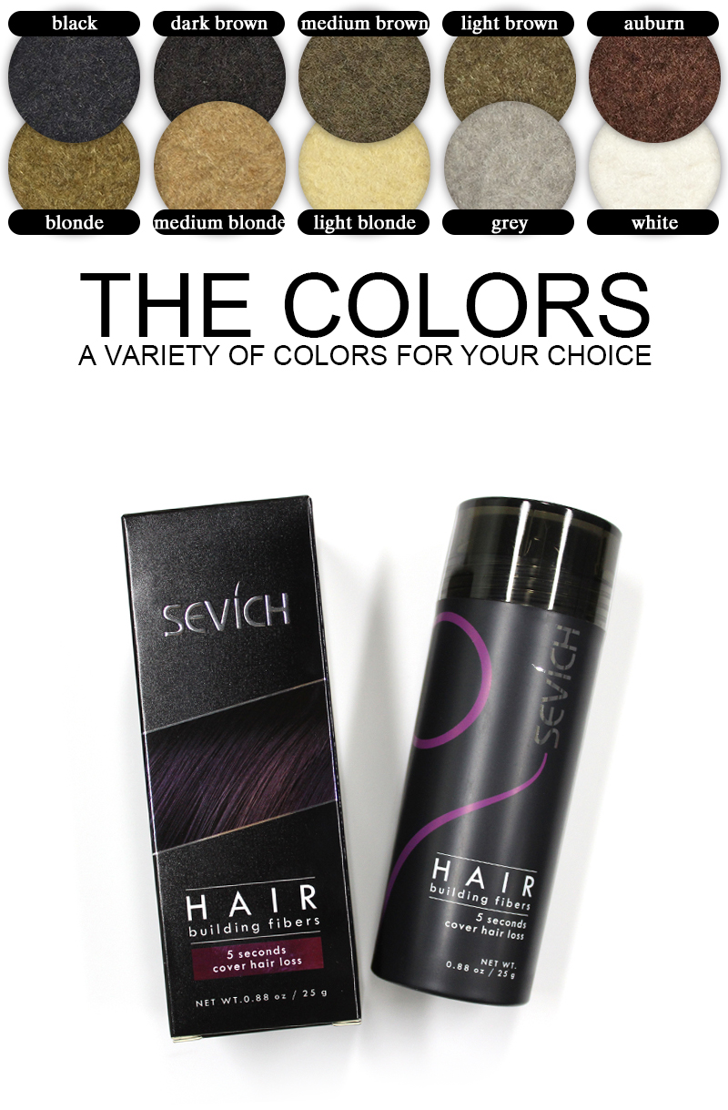 new affordable price balding concealer hair fiber spray