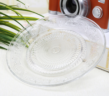 clear square glass dinner plate with decal printingtempered decal printing plate & Clear Square Glass Dinner Plate With Decal PrintingTempered Decal ...