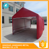 Fast Delivery Excellent Stability JQA1220 Promotional Round Style Display Car Port Tent Shelter