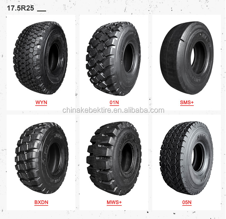 nylon bias wheel loader tire for 17.5-25 23.5-25