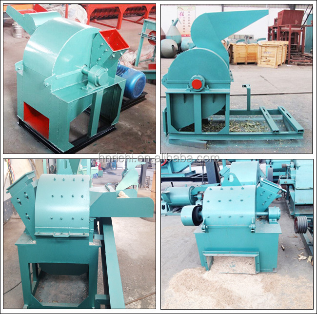 T h capacity grinding wood chips to sawdust machine