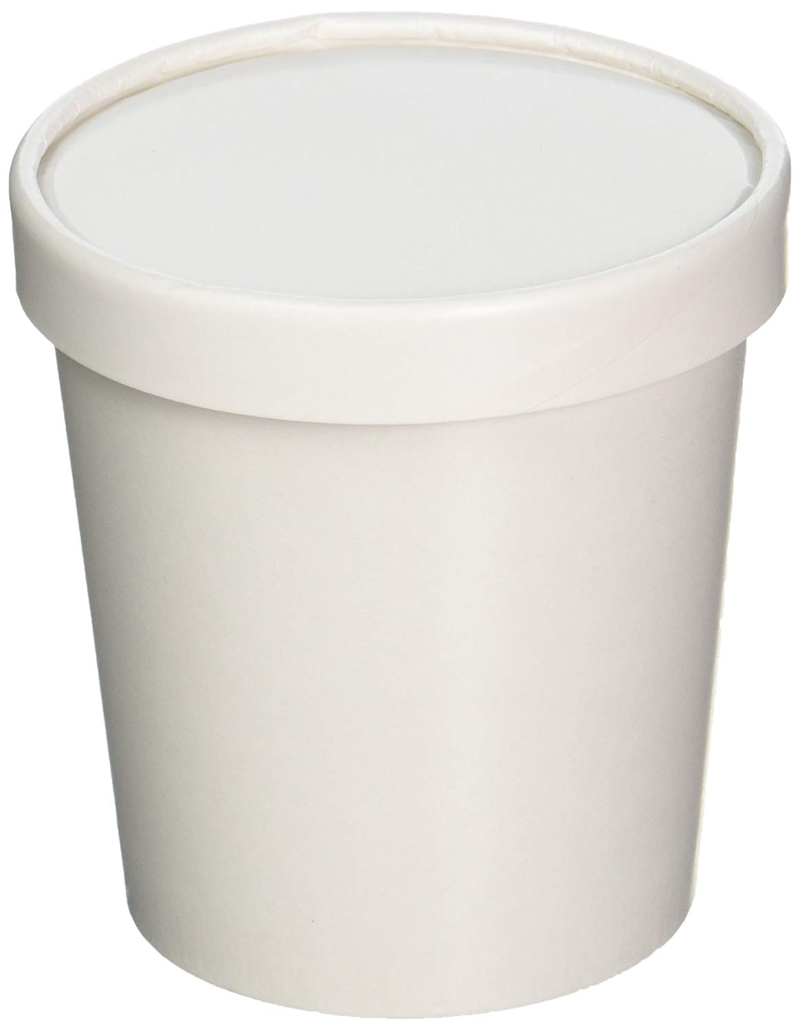 Biodegradable Ice cream cup paper packaging bowl containers and lid with custom printing