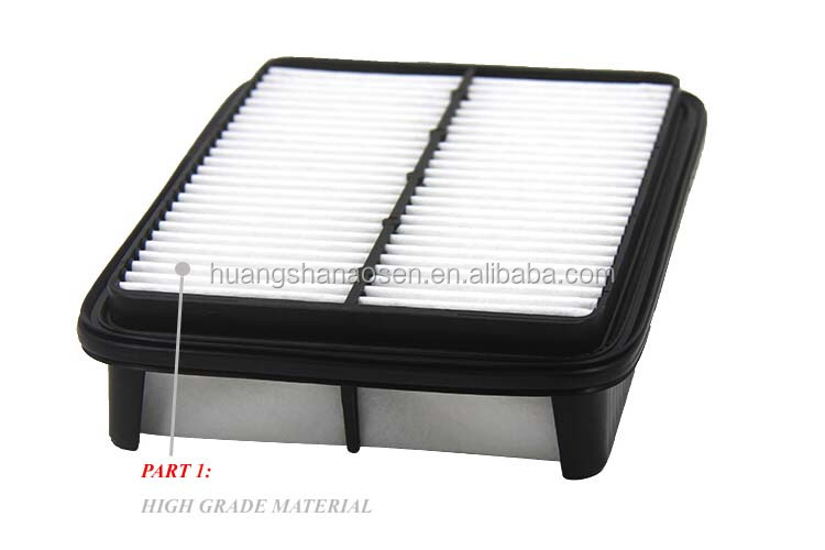 ISO/TS 16949 registered air filter 17801-35020/17801-55020/17801-08010 for toyota hilux