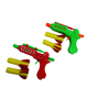 eva form shooting gun toy shooting soft foam bullet gun air soft bullet gun safety