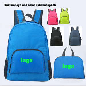 1a66e63c31 OEM Custom LOGO Outdoor Camping Sport Hiking Travel Folding Bag cheap  Lightweight promotion gift backpack