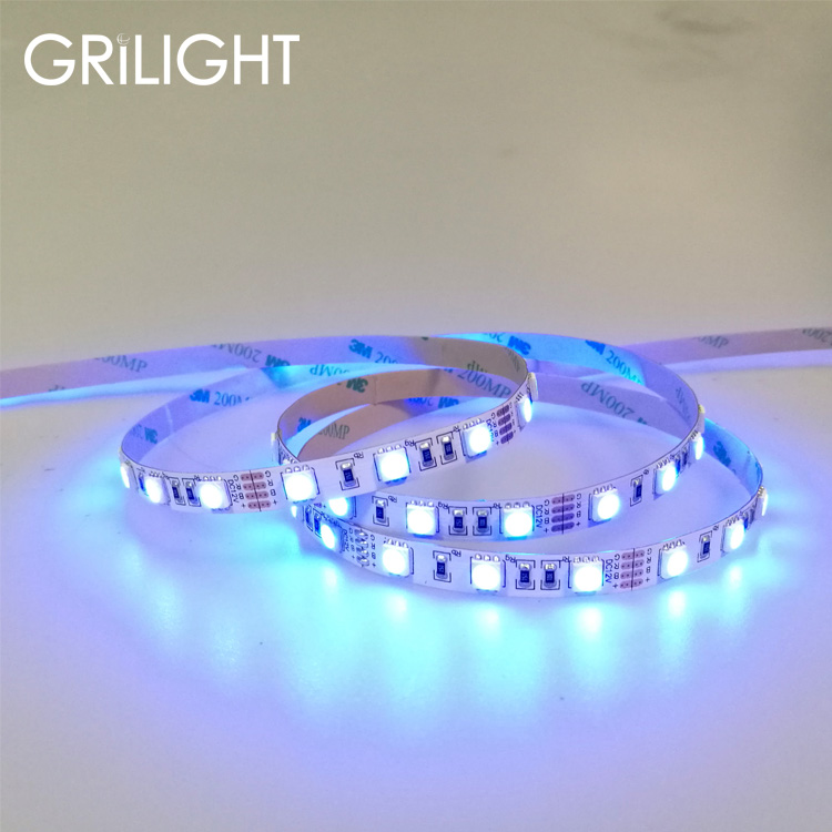 Cheap price white SMD 2835 3528 3014 PCB width 10mm smd 5050 60leds ul listed led strip light