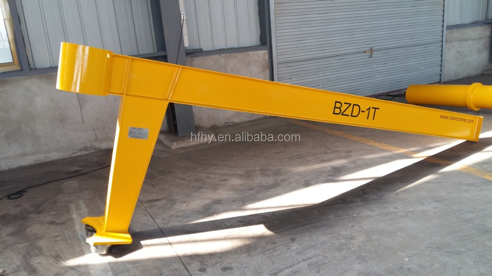 Swing Arm Hoist Mount : Long swing arm hoist ton portable jib crane buy