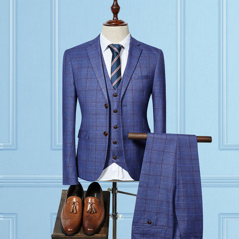 Office Uniform Autumn Winter Casual Latest Wholesale Cheap Mens Suits