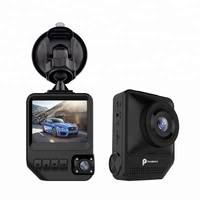 2.31 Inch Small Screen Car Data Recorder T818 Wide Angle Camera Lens Digital Video Recorder with 2 Lens Recorder inside the Car
