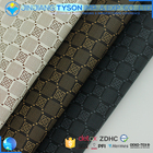High quality materials check pattern synthetic roll pu pvc synthetic leather