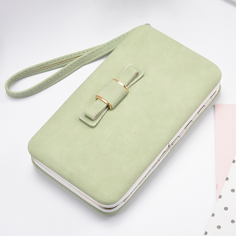 Spot Wholesale Cheap New Korean Edition MS Long Money In The Wallet Phone Packages Female Fashion Bowknot l