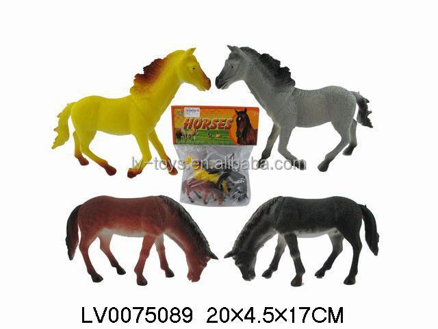 Greatest Cheap Plastic Toy Horses,Race Horse Toys For Kids 4 In 1 - Buy  GY61
