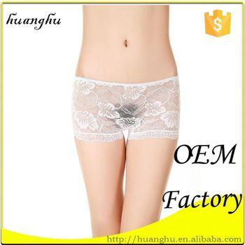 Nylon panty models