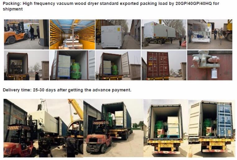 vacuum wood drying kiln full automatic woodworking machinery sawmill machinery