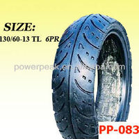 motorcycle scooter tubeless tires 130/60-13 tyres 130 60 13