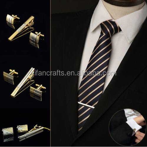 Metal Gold Tie Bar Clasp