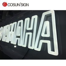 High Brightness catching eyes Acrylic Neon Signboard