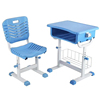 Keliang student double folding school desk and chair